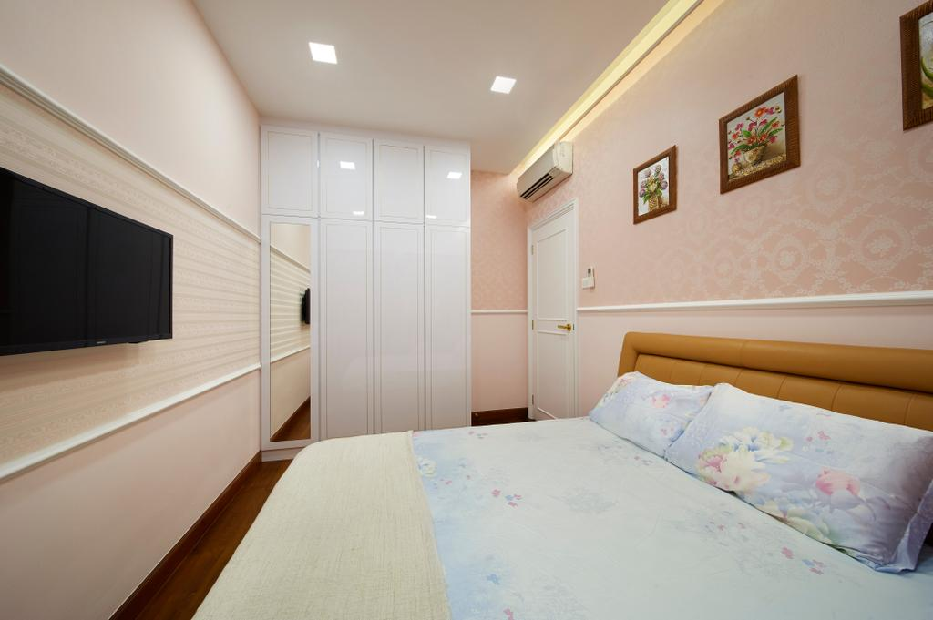 Modern, Condo, Glendale Park, Interior Designer, U-Home Interior Design, Minimalistic, Bedroom, Indoors, Interior Design, Room