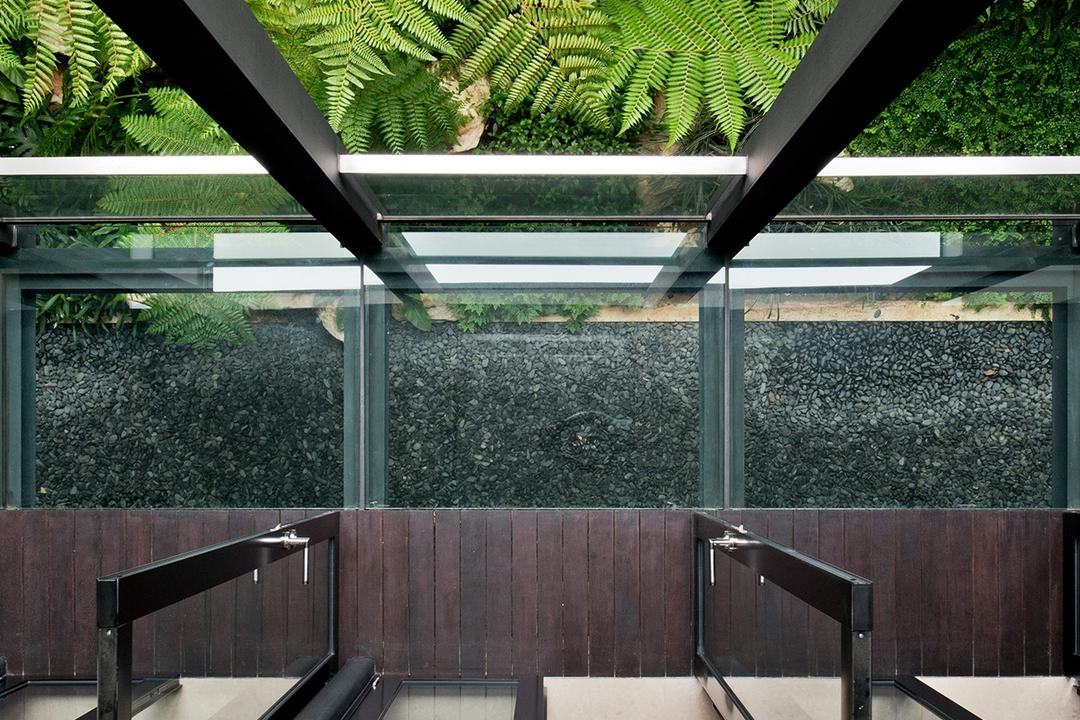 Toh Heights, Kite Studio Architecture, Contemporary, Landed, Plants, Leaves, Wood, Ventilations, Fern, Flora, Plant