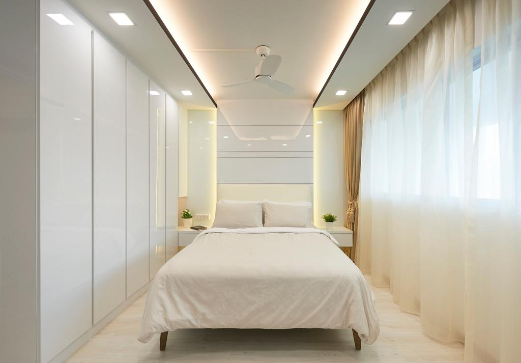Modern, HDB, Bedroom, Bukit Batok Street 11, Interior Designer, U-Home Interior Design, Minimalistic