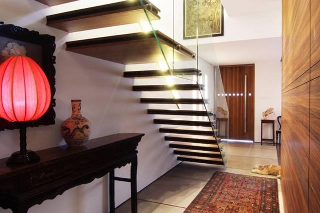 Chiselhurst Grove, akiHAUS, Modern, Landed, Jar, Pottery, Vase, Banister, Handrail, Staircase, Lamp, Lantern