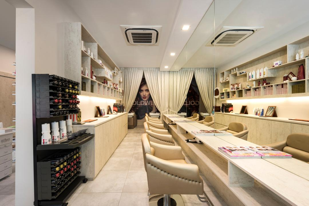 Boon Tiong Road, D5 Studio Image, Transitional, Commercial, Curtain, Home Decor, Shoe Shop, Shop