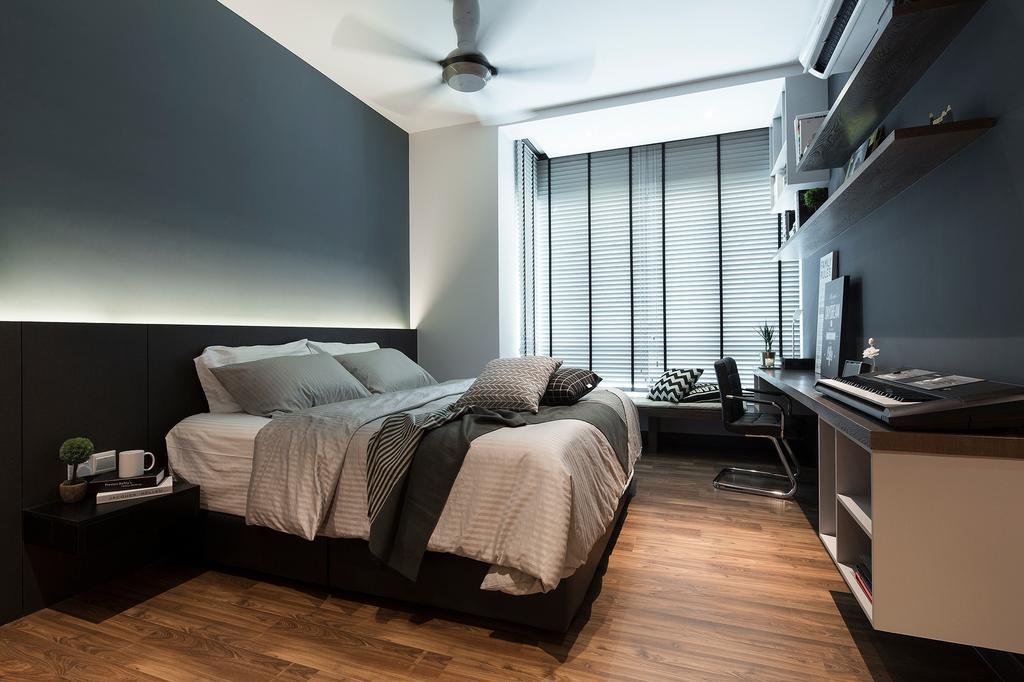 Modern, Condo, The Reach, Titiwangsa, Interior Designer, Box Design Studio Sdn Bhd, Contemporary