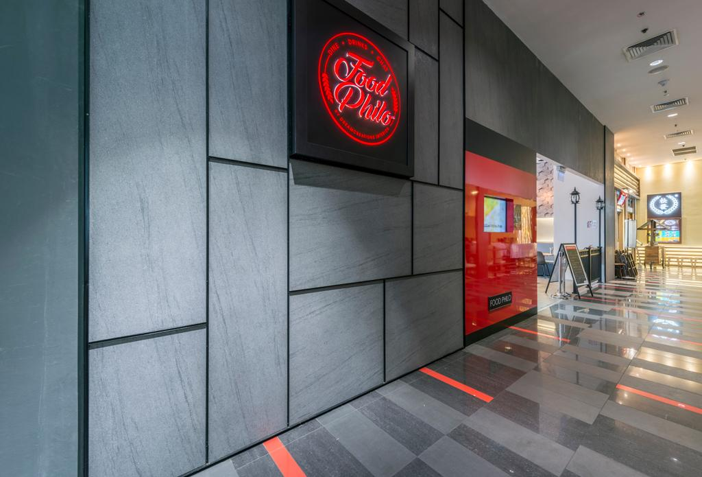 Food Philo, Commercial, Interior Designer, DreamCreations Interior, Eclectic, Logo, Trademark, Corridor