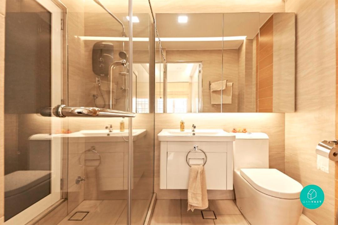 Make Your Small Bathroom Feels Bigger