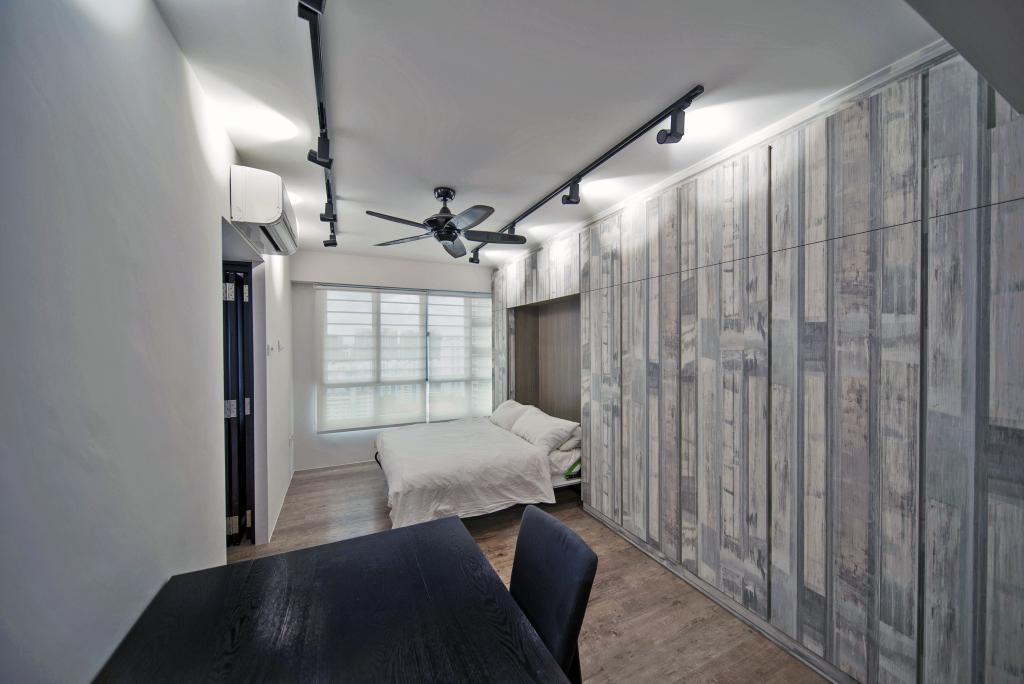 Modern, HDB, Bedroom, Bendemeer Road, Interior Designer, Dyel Design