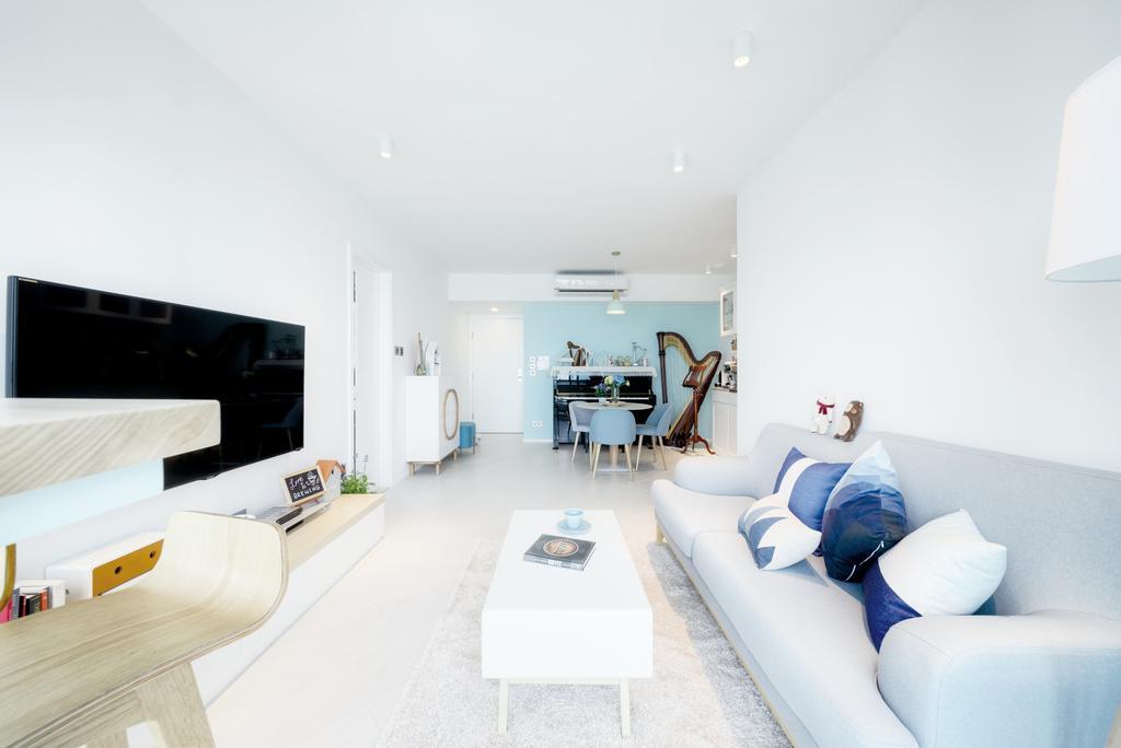 摩登, 私家樓, 客廳, 浪澄灣, 室內設計師, Art Deco Design, 北歐, Indoors, Interior Design
