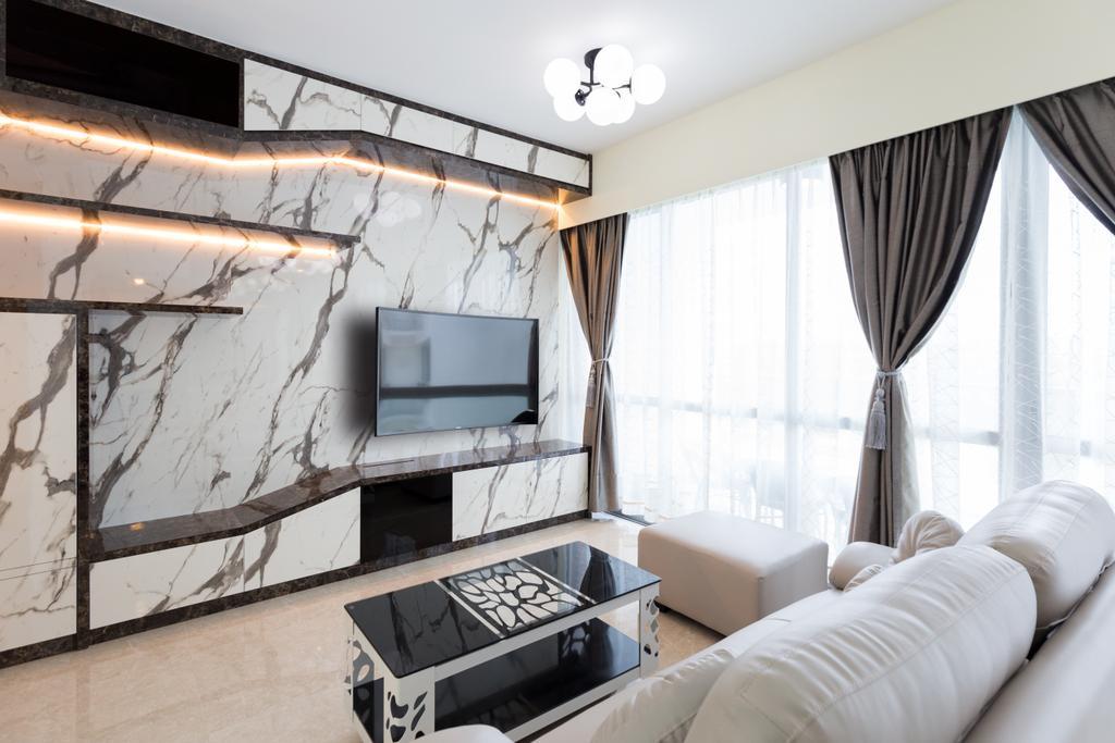 Condo, Living Room, Tampines Street 86, Interior Designer, Starry Homestead