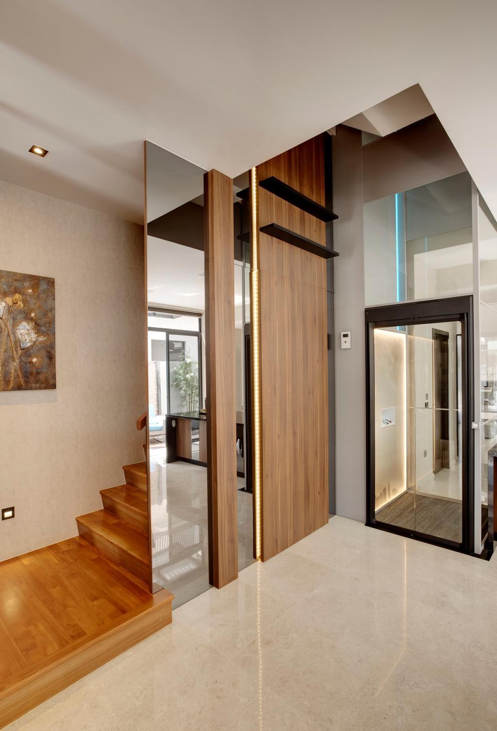 Modern, Landed, Living Room, Luxus Hill, Interior Designer, The Orange Cube