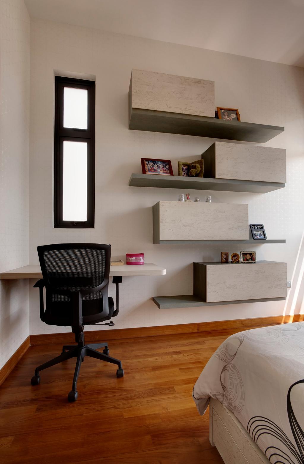 Modern, Landed, Luxus Hill, Interior Designer, The Orange Cube, Chair, Furniture