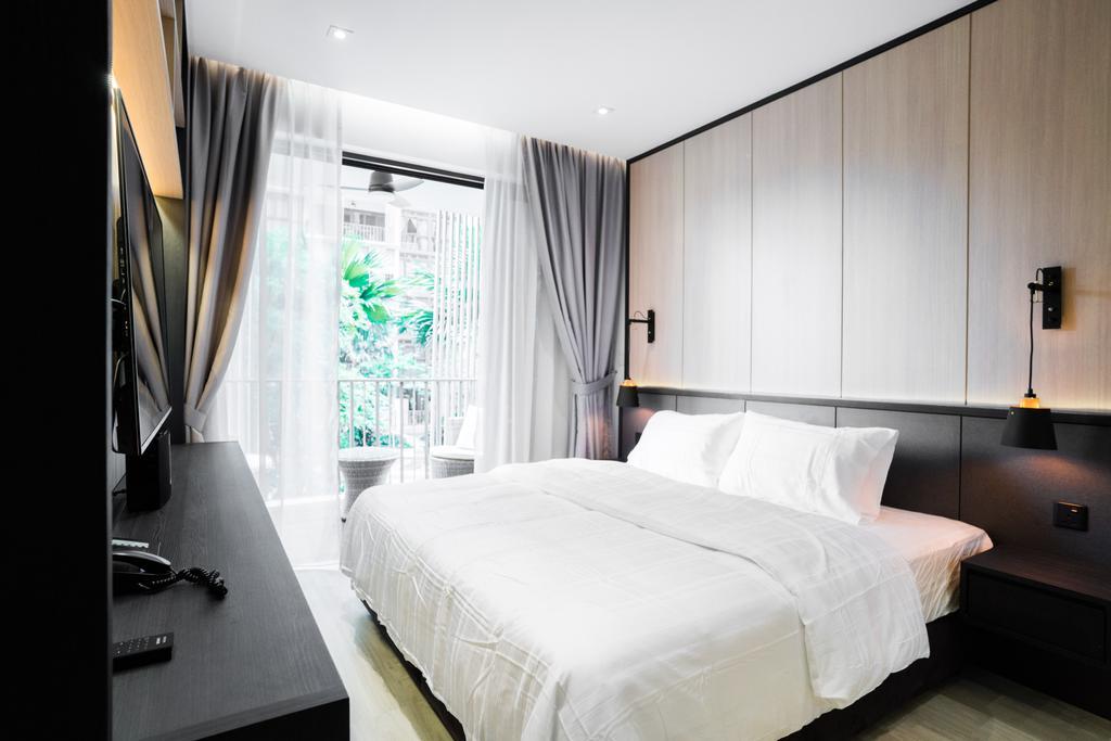 Modern, Condo, Bedroom, River Isles, Interior Designer, Happe Design Atelier, Indoors, Interior Design, Room