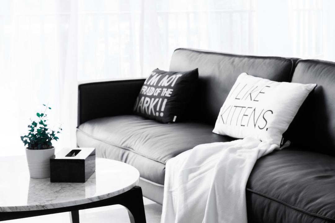River Isles, Happe Design Atelier, Modern, Living Room, Condo, Cushion, Home Decor, Pillow, Pot