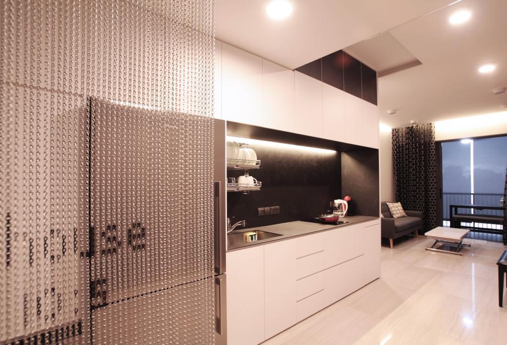 Modern, Condo, Kitchen, Lakeville, Interior Designer, Intrigue-d Design Consultancy, Flooring, Indoors, Interior Design, Bathroom, Room, HDB, Building, Housing