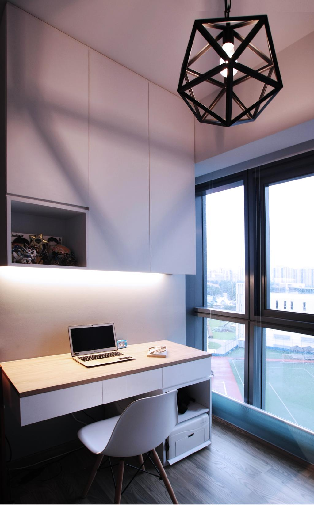 Modern, Condo, Study, Lakeville, Interior Designer, Intrigue-d Design Consultancy