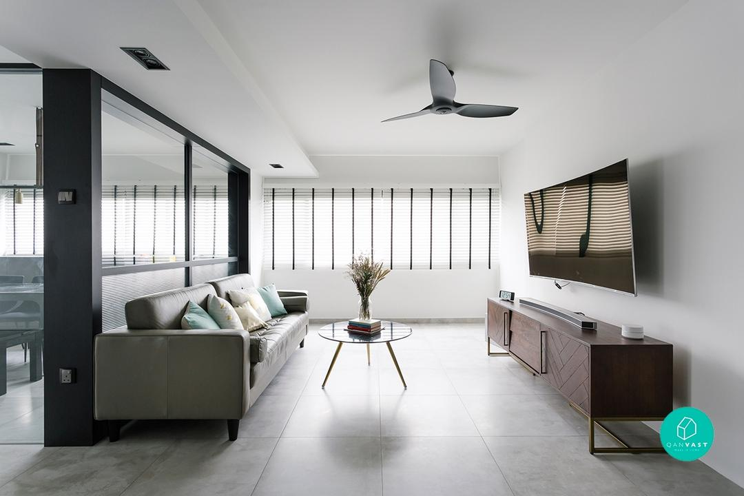 Open Concept Homes HDB Flexi-Layout Designs