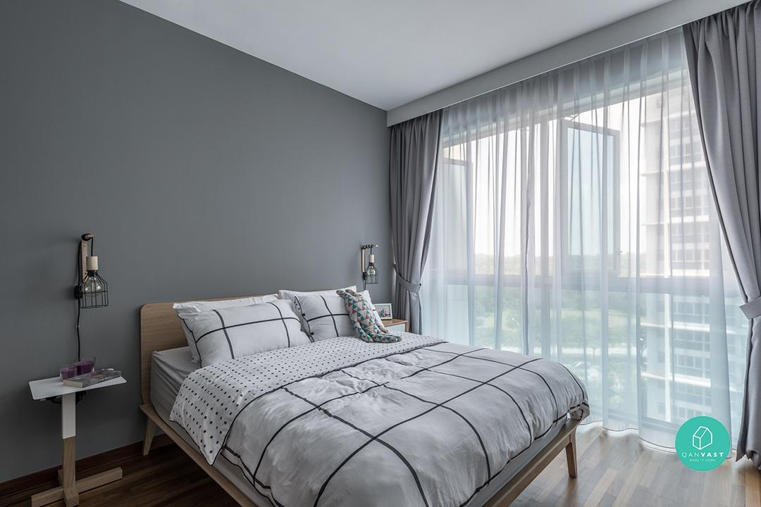 Renovation for 2-bedder condo at QBay Residences