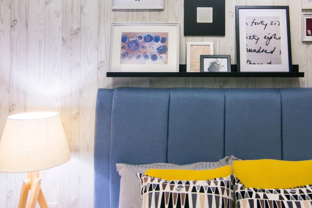 Emerald Perdana, Roomia, Scandinavian, Condo, Indoors, Nursery, Room, Lamp, Lampshade