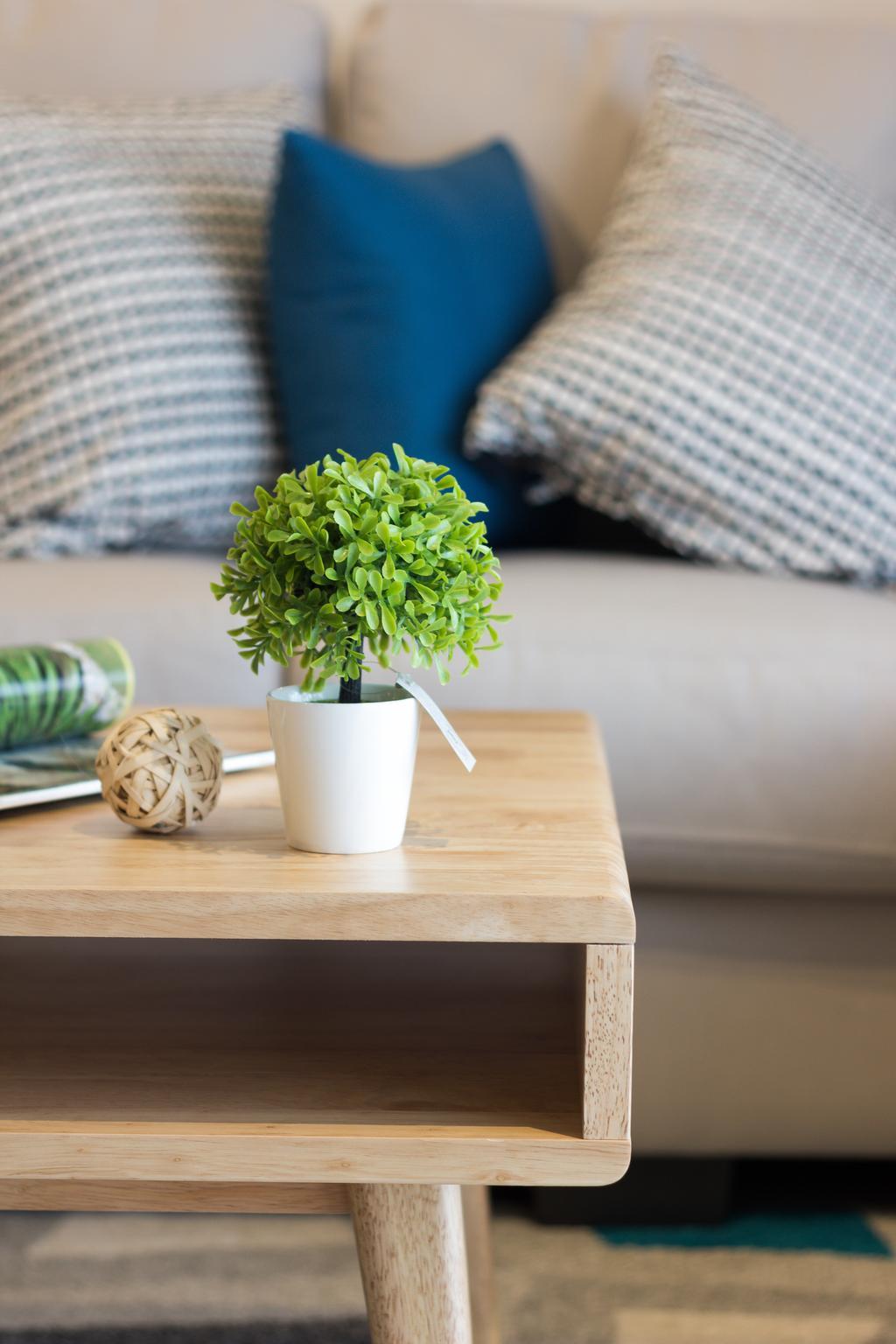 Scandinavian, Condo, Emerald Perdana, Interior Designer, Roomia, Coffee Table, Furniture, Table