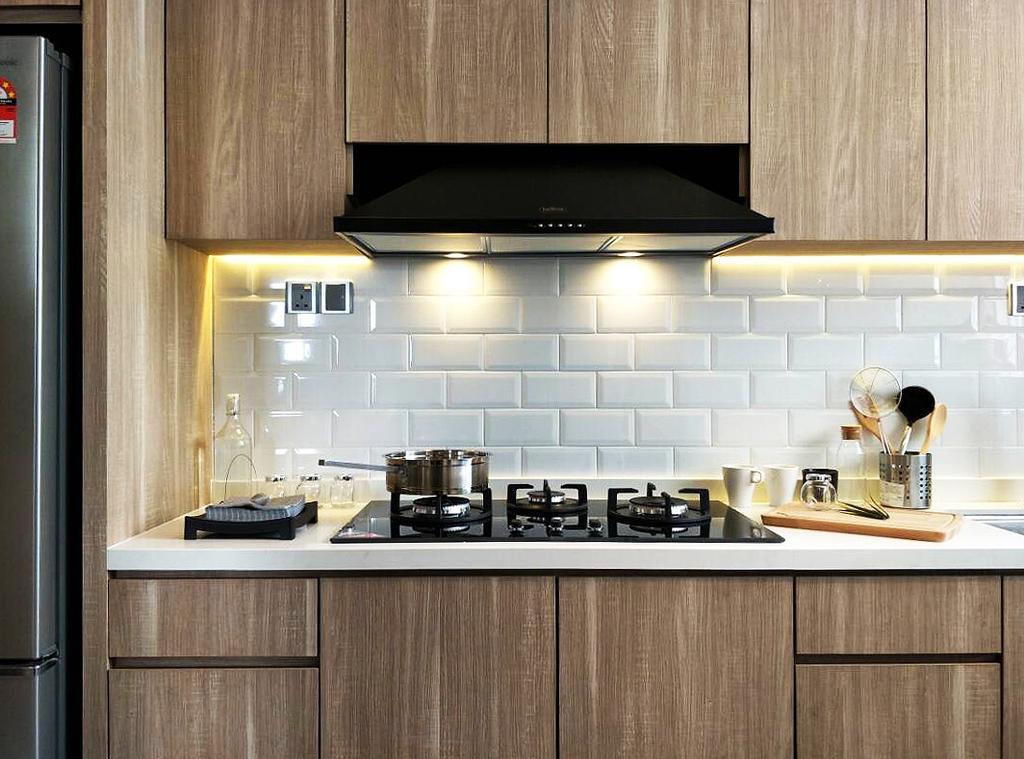 Modern, Condo, 7 Tree Seven Residence, Interior Designer, RK Interior Studio, Transitional, Indoors, Interior Design, Kitchen, Room