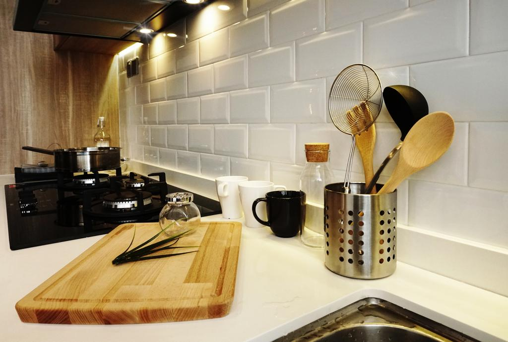 Modern, Condo, 7 Tree Seven Residence, Interior Designer, RK Interior Studio, Transitional, Appliance, Electrical Device, Oven, Cup, Coffee Cup