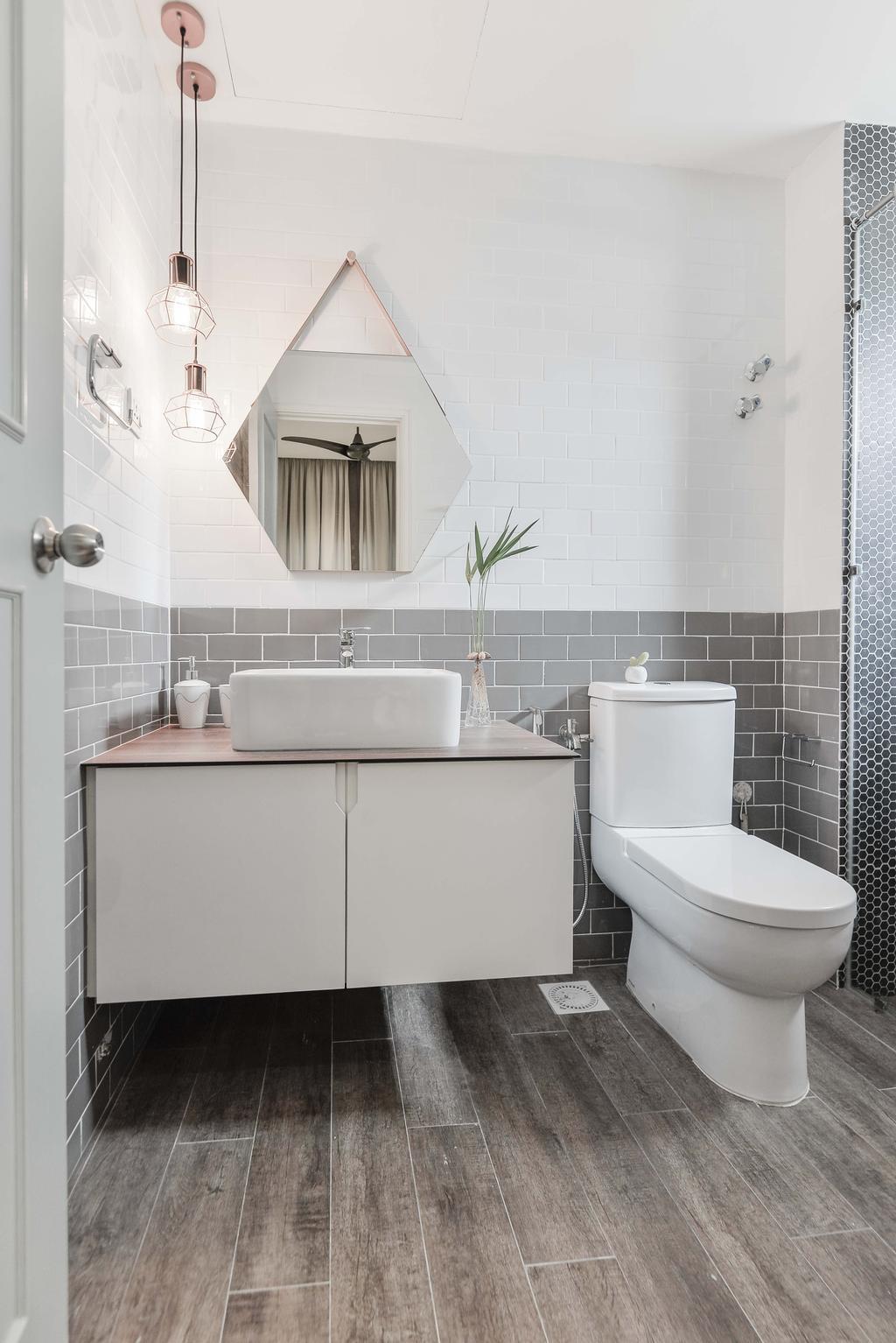 Minimalist, Condo, Li Villas, Interior Designer, Dot Works, Modern, Bathroom, Indoors, Interior Design, Room