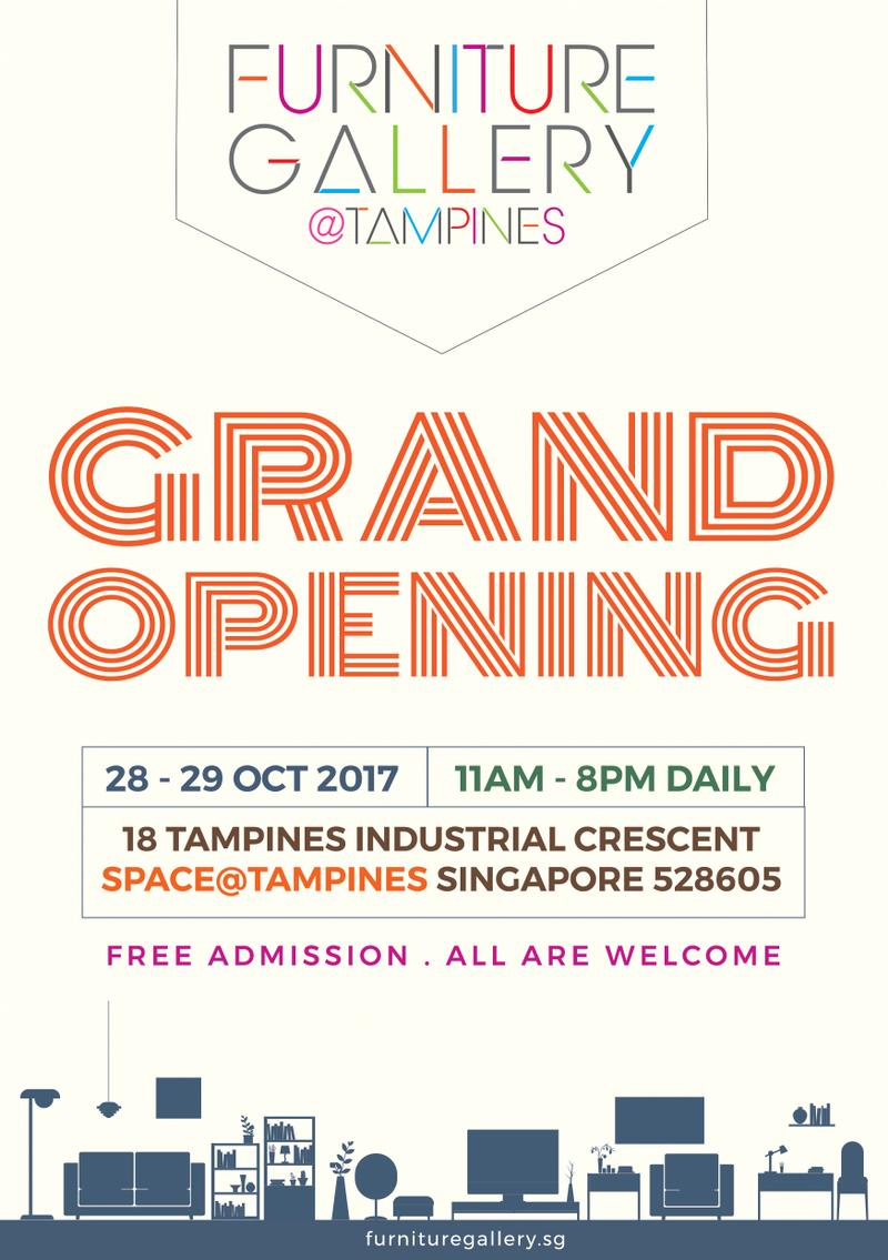 Furniture Gallery At Tampines Grand Opening