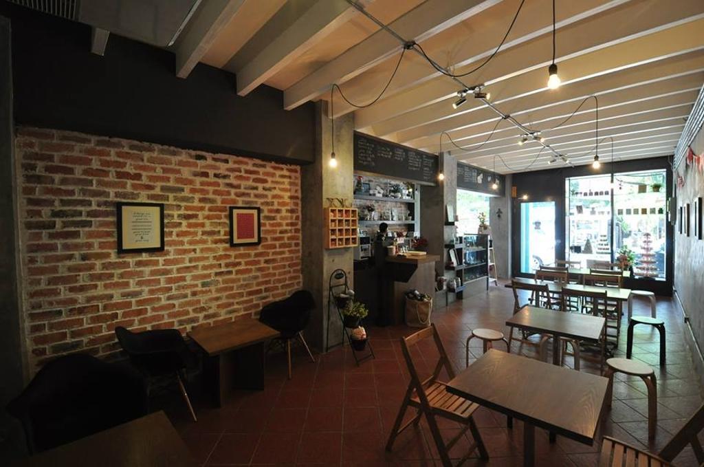 La Vanille Pastry (Georgetown), Commercial, Interior Designer, Grazioso Design, Eclectic, Cafe, Restaurant, Brick