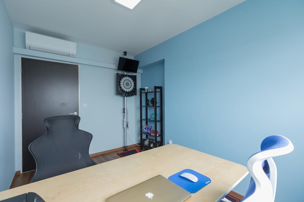 Scandinavian, HDB, Study, Whampoa Dew, Interior Designer, D Initial Concept, Chair, Furniture, Building, Housing, Indoors
