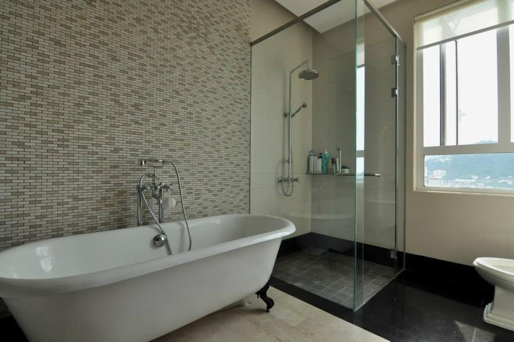 Modern, Condo, Bathroom, Quayside Condominium Type A, Interior Designer, Grazioso Design, Indoors, Interior Design, Room