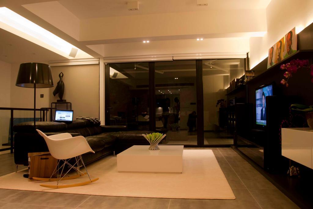 摩登, 私家樓, 寶珊苑, 室內設計師, 禾烽室內設計, Chair, Furniture