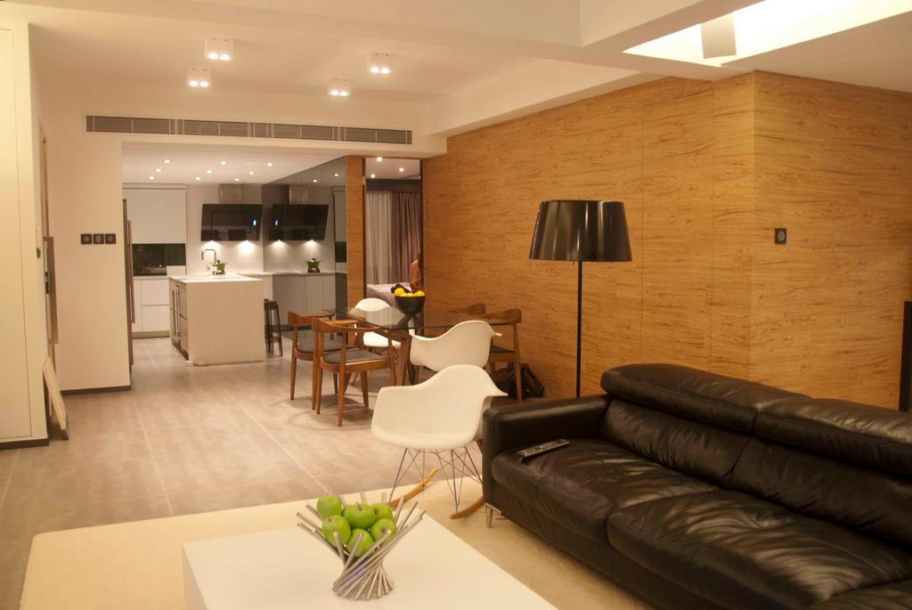 摩登, 私家樓, 寶珊苑, 室內設計師, 禾烽室內設計, Couch, Furniture, Indoors, Interior Design, Room, Dining Table, Table