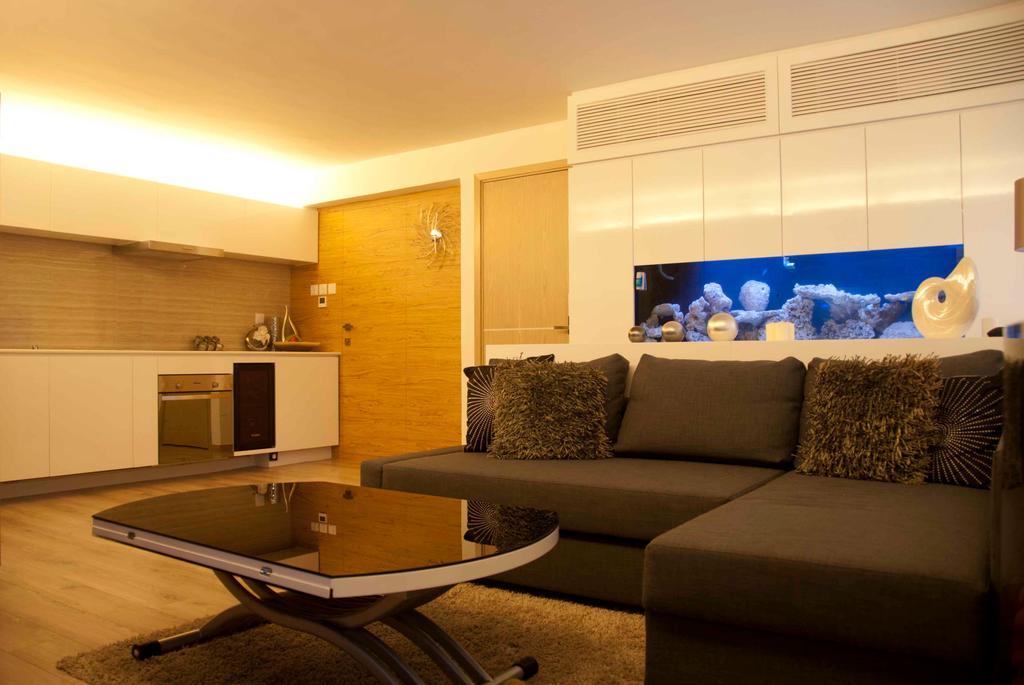 摩登, 私家樓, 葵涌, 室內設計師, 禾烽室內設計, Couch, Furniture, Chair