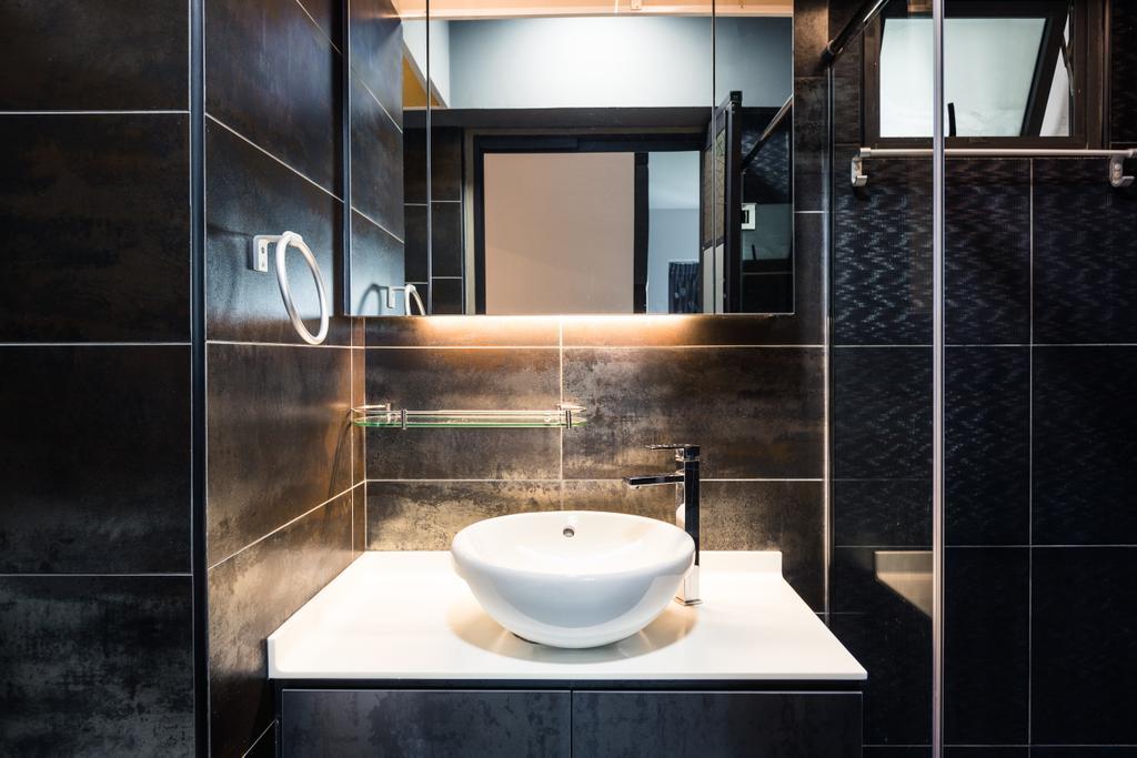 Contemporary, HDB, Bathroom, Skyville @ Dawson, Interior Designer, Colourbox Interior, Indoors, Interior Design, Room