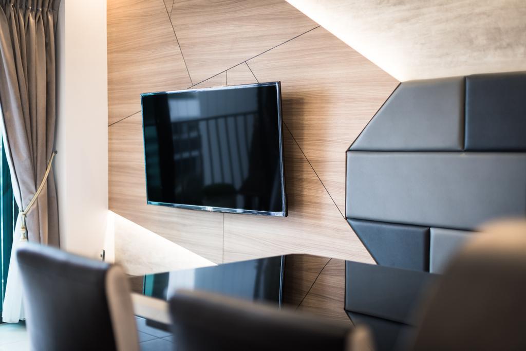 Contemporary, HDB, Living Room, Skyville @ Dawson, Interior Designer, Colourbox Interior, Indoors, Interior Design