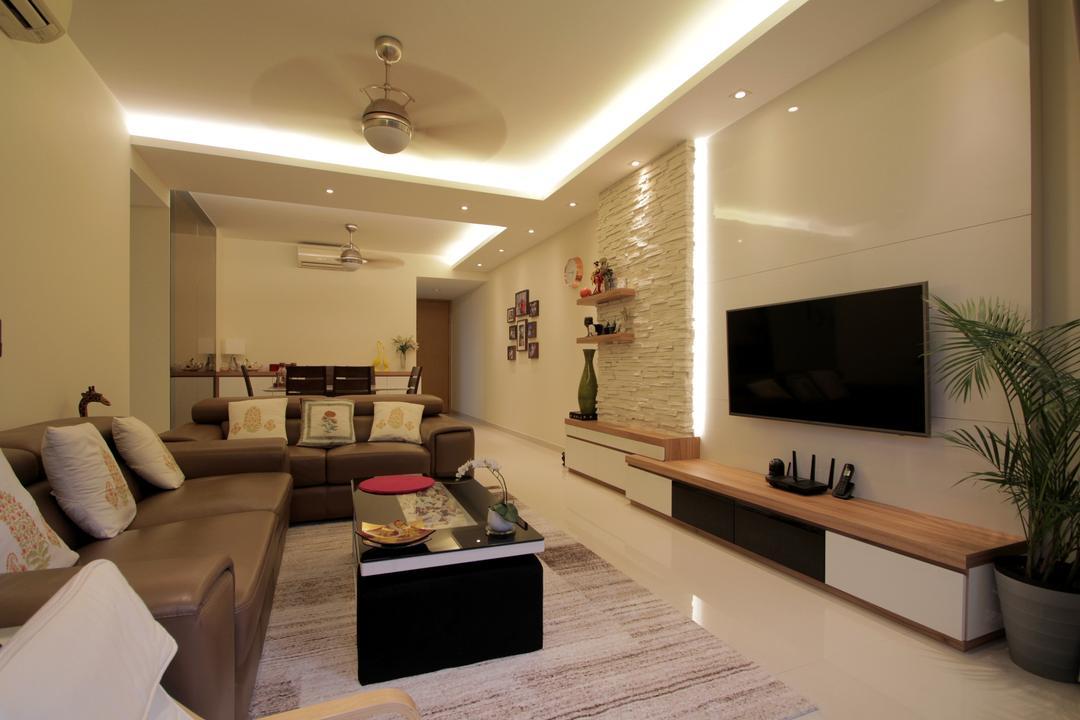 Casa Merah Living Room Interior Design 6