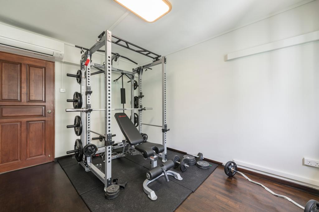 Modern, HDB, Commonwealth Avenue West (Block 413), Interior Designer, ID Gallery Interior, Industrial, Exercise, Fitness, Gym, Sport, Sports, Working Out
