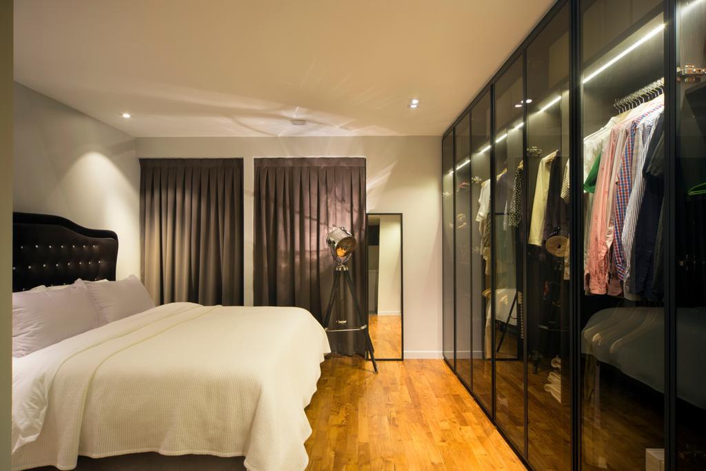 Contemporary, HDB, Bedroom, SkyTerrace @ Dawson, Interior Designer, Form & Space, Bed, Furniture, Indoors, Room
