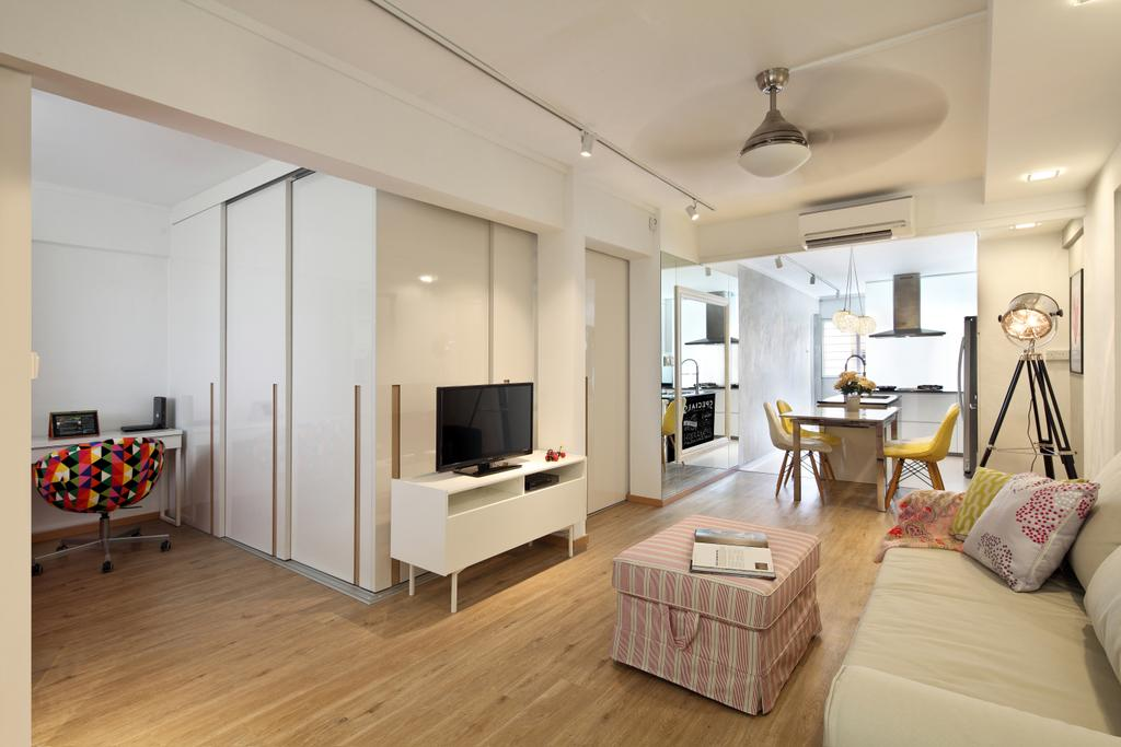 Scandinavian, HDB, Living Room, Ang Mo Kio Avenue 1 (Block 331), Interior Designer, Form & Space, Contemporary, Indoors, Interior Design