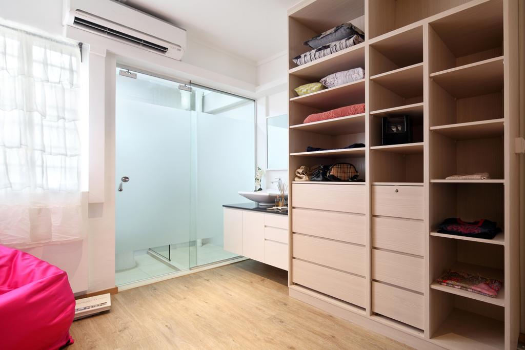Scandinavian, HDB, Bedroom, Ang Mo Kio Avenue 1 (Block 331), Interior Designer, Form & Space, Contemporary