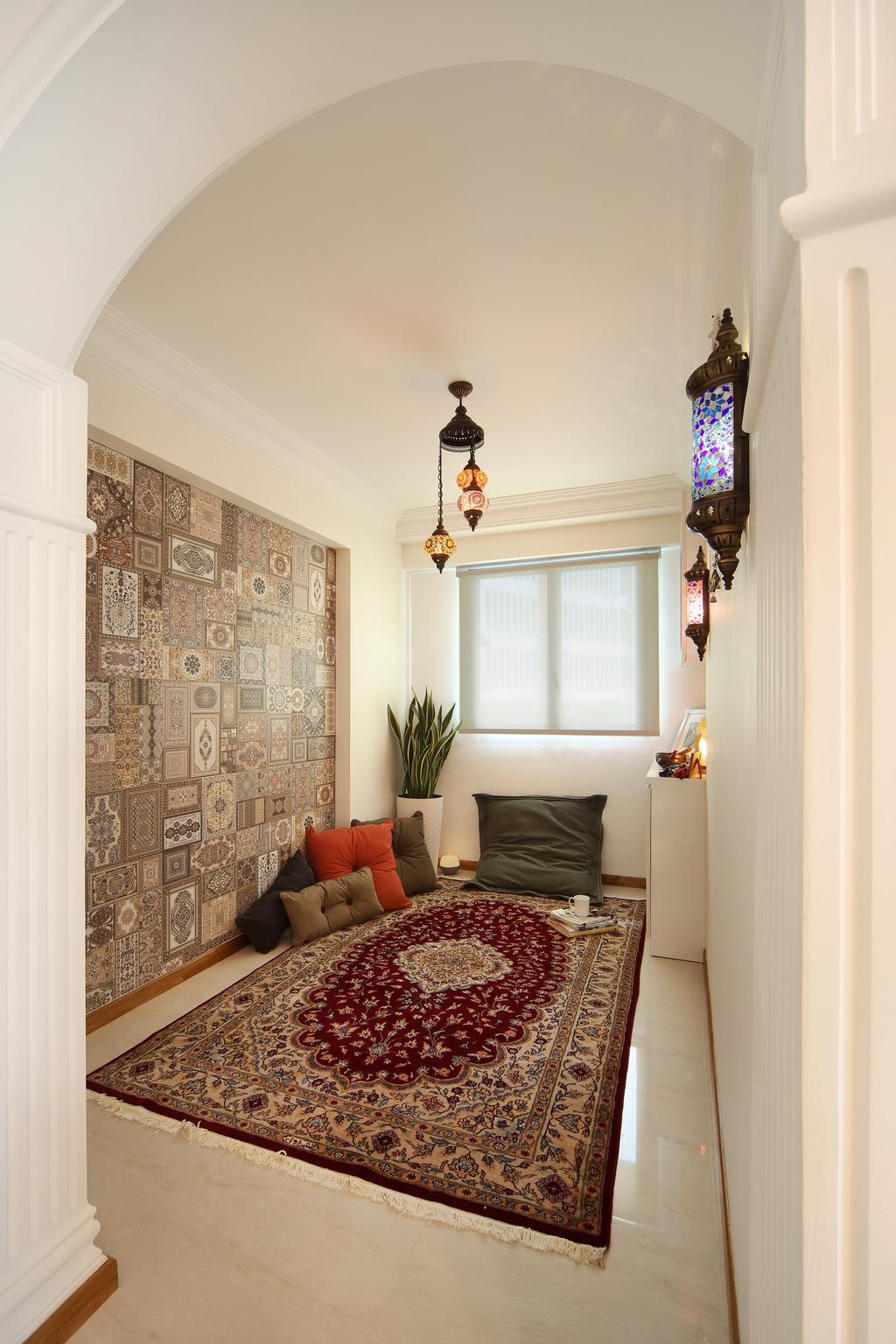 Scandinavian, HDB, Yishun Street 31 (Block 334B), Interior Designer, Form & Space, Flora, Jar, Plant, Potted Plant, Pottery, Vase, Indoors, Interior Design, Room, Bedroom