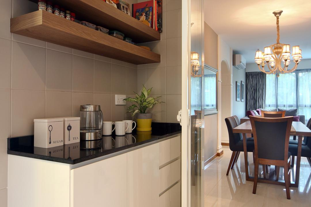 Yishun Street 31 (Block 334B), Form & Space, Scandinavian, HDB, Light Fixture, Flora, Jar, Plant, Potted Plant, Pottery, Vase, Cup, Dining Room, Indoors, Interior Design, Room, Chair, Furniture, Dining Table, Table