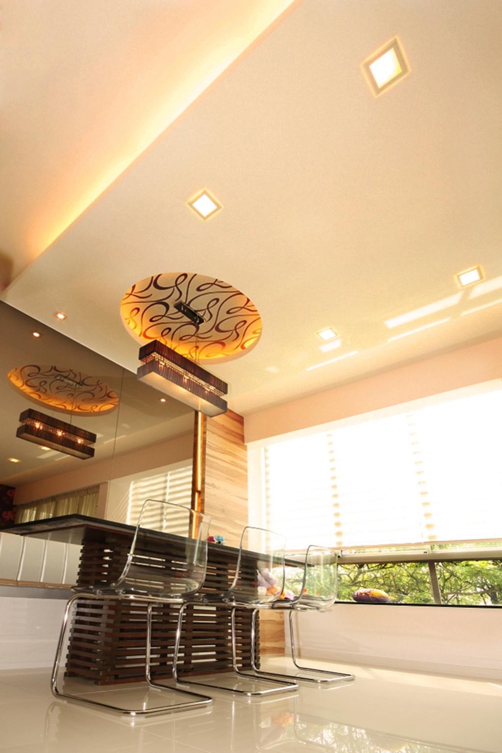 Contemporary, Condo, Dining Room, One North Residences, Interior Designer, Form & Space