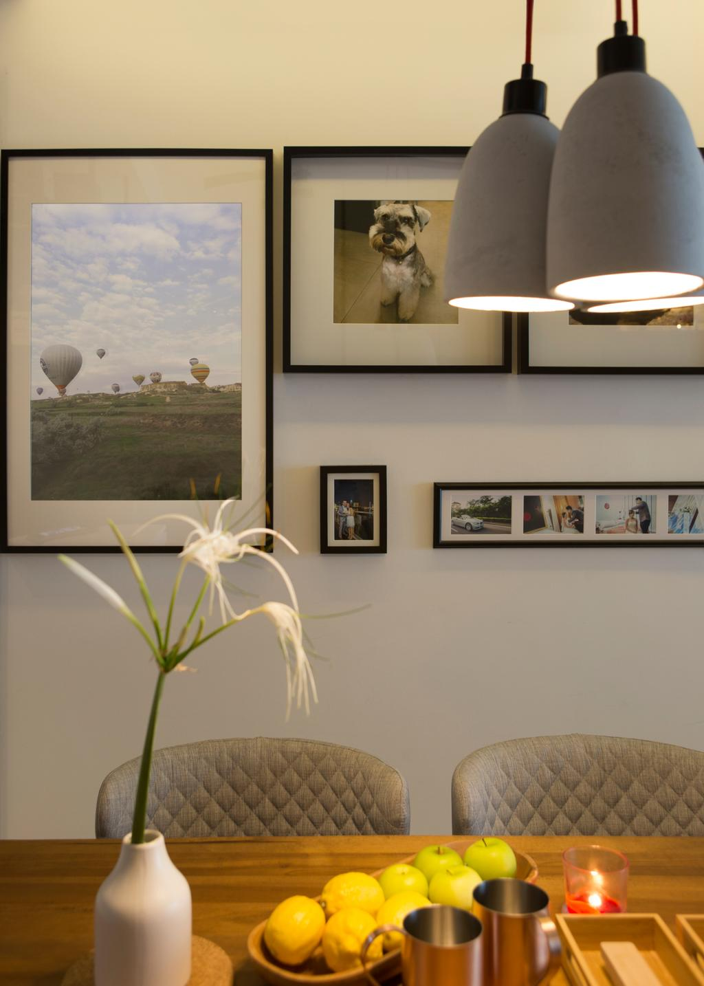 Contemporary, Condo, Dining Room, RiverParc Residence, Interior Designer, Form & Space, Art, Art Gallery, Collage, Poster