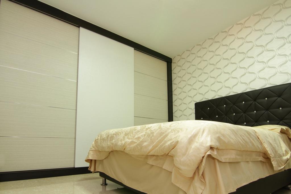 Modern, HDB, Bedroom, Jurong East Street 21, Interior Designer, Form & Space, Bed, Furniture