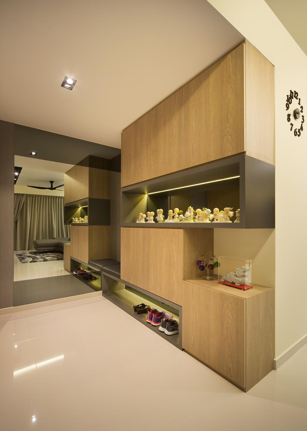 Transitional, Condo, Living Room, Skypark Residence, Interior Designer, Form & Space, Indoors, Interior Design