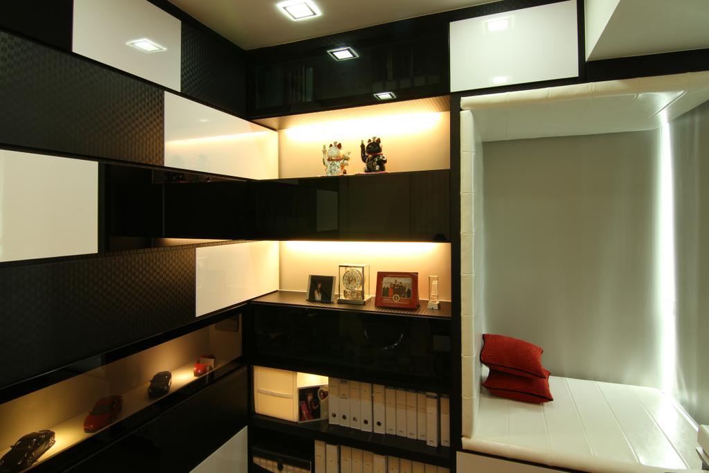 Contemporary, Condo, Study, Southbank, Interior Designer, Form & Space, HDB, Building, Housing, Indoors, Loft