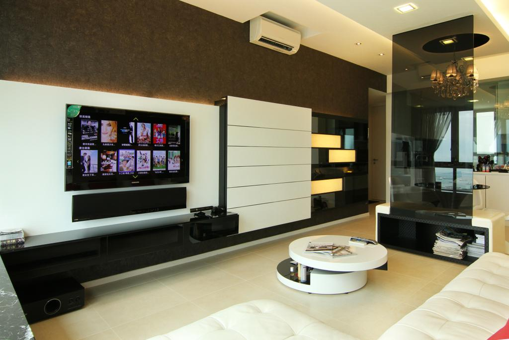 Contemporary, Condo, Living Room, Southbank, Interior Designer, Form & Space, Electronics, Lcd Screen, Monitor, Screen, Indoors, Interior Design, Coffee Table, Furniture, Table