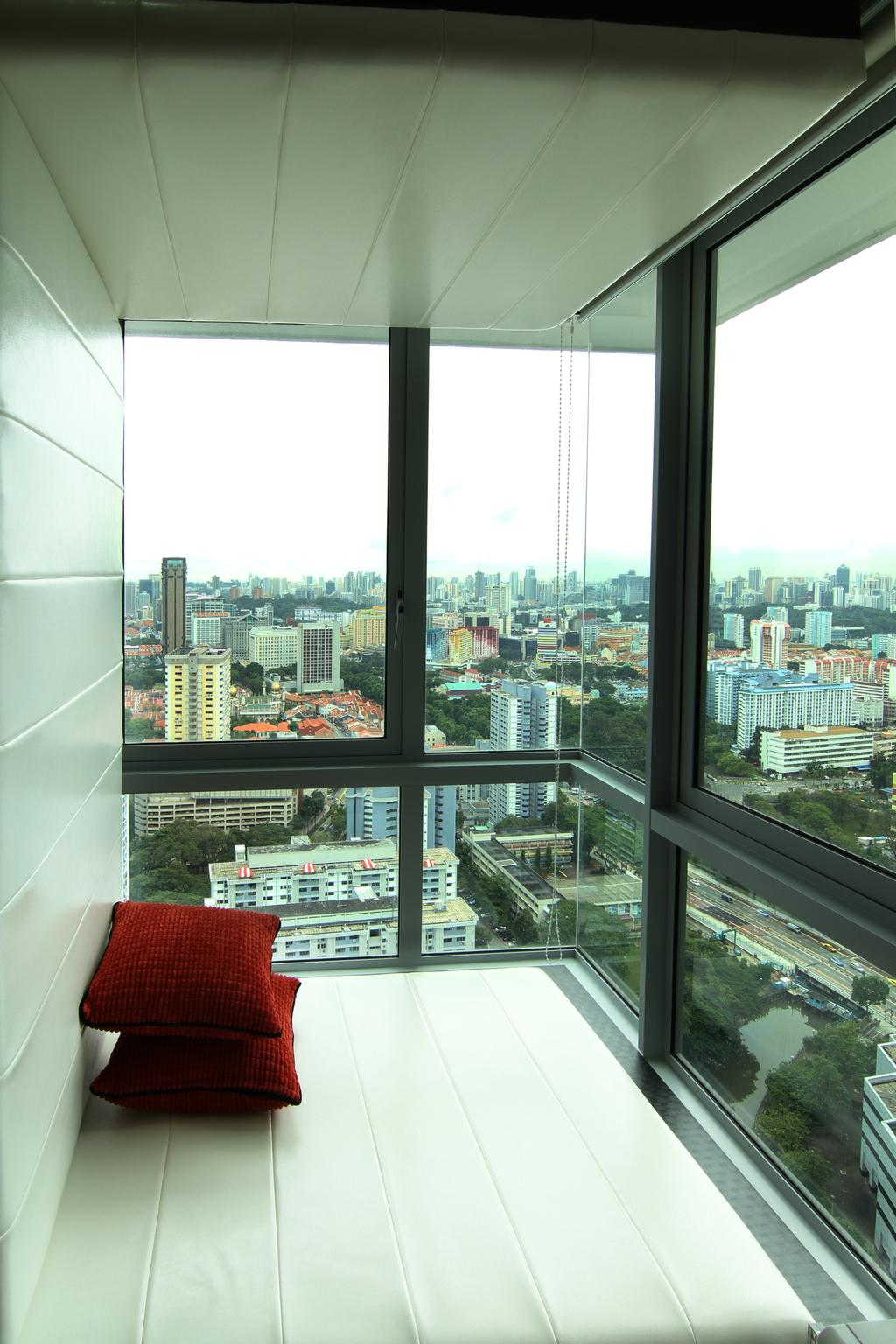 Contemporary, Condo, Balcony, Southbank, Interior Designer, Form & Space, Building, City, Town, Urban