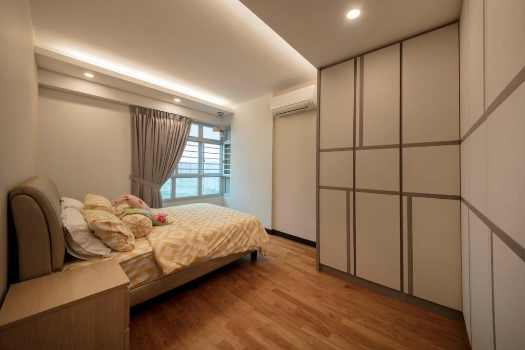 Minimalist, HDB, Bedroom, Sumang Lane (Block 227A), Interior Designer, Thom Signature Design