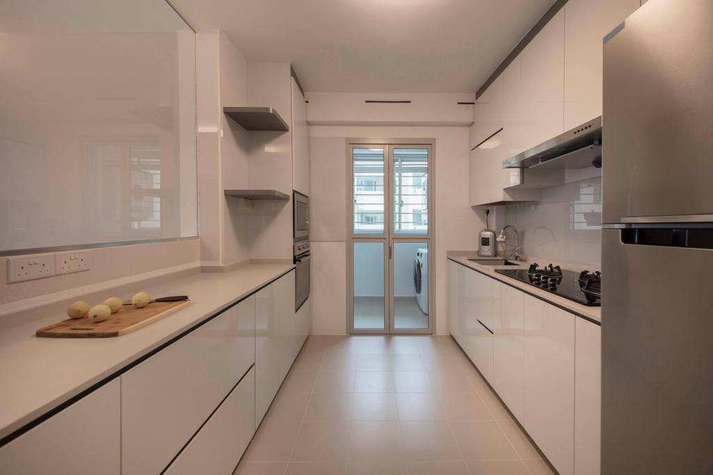 Minimalist, HDB, Kitchen, Sumang Lane (Block 227A), Interior Designer, Thom Signature Design