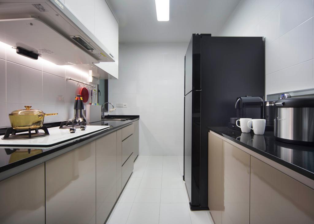 Contemporary, HDB, Kitchen, SkyVille @ Dawson, Interior Designer, Form & Space, Indoors, Interior Design, Room, Bathroom